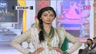 Bridal Couture Week 2012 Style 360 TV Cara  Erum khan
