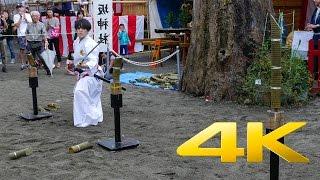 Iaido demonstration Toudou-Renmei School - 刀道連盟 - 4K Ultra HD