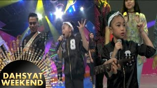 Boom!! Duet Maut Ayah Dan Anak, Zara Leola Ft Enda 'Move It' [DahSyat] [12 Nov 2016]