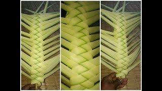 How to make a beautiful palm design(Date tree leaf)