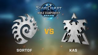 StarCraft 2 - SortOf vs. Kas (ZvT) - WCS Jönköping Challenger EU - Qualifier #1