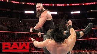 Braun Strowman sustains injury during Elimination Tag Team Match: Raw, Nov. 19, 2018