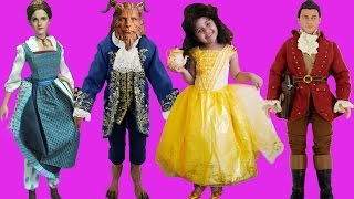 Beauty and the Beast 2017 Live Action Movie Halloween Costumes and Toys