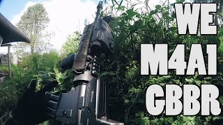 """Gameplay Video of """"WE TECH M4A1 GBBR""""   GBBR MASTER RACE!"""