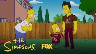 Homer Gets Jealous Of Matt Leinart | Season 28 Ep. 8 | THE SIMPSONS
