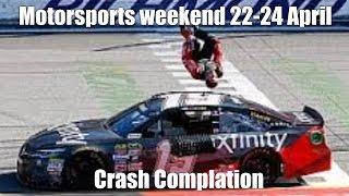motorsport crash compilation weekend 22-24 April 2016