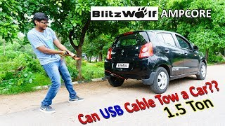 World's Strongest USB Cable?? Blitzwolf Ampcore for Only 230Rs