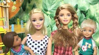 Barbie ve Ailesi Bölüm 101 - Parkta oynarken - Çizgi film tadında Barbie oyunları ve filmleri