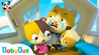 ★NEW★貓咪一家被困在摩天輪上!好危險!奇妙救援隊快來救救他們 | 奇妙救援隊兒歌 | 童謠 | 動畫 | 卡通 | 寶寶巴士 | 奇奇 | 妙妙