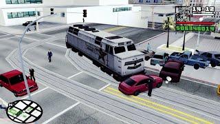 Asi Se Pone Un Tren En El Tranvía De San Fierro En Gta San Andreas