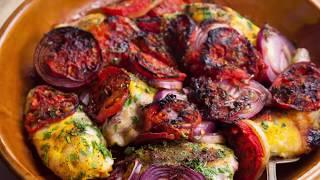 مذاق واشتياق - دجاج بالطماطم والبصل - مع سعاد البوعميري