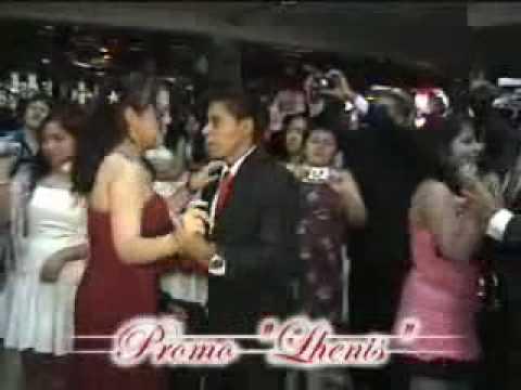 baile del vals en la fiesta de graduacion de la promo lhenis