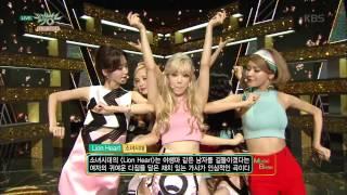 [kbs world] 뮤직뱅크 - 소녀시대, 걸그룹의 끝판왕의 위엄'Lion Heart + You Think'.20150821