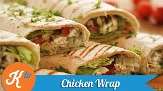 Resep Ayam Tortilla (Healthy Chicken Wrap Recipe Video) | MELATI PUTRI