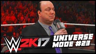 WWE 2K17 | Universe Mode - 'THE BROCK BOTCH!' | #23