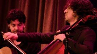 Ian Maksin & Goran Ivanovic Trio: Flamenco Arabic Balkan Fusion! Cello Guitar