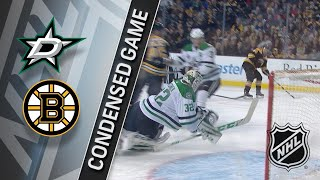 01/15/18 Condensed Game: Stars @ Bruins