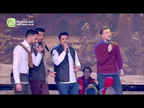 Arab Idol – العروض المباشرة – ممير دندن،وليد بشاره، مهند حسين، ويعقوب شاهين – لما بضمك عا صديري