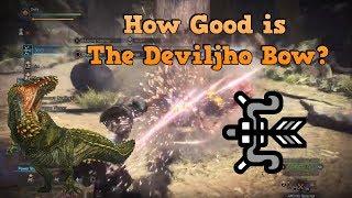Deviljho Bow Build! Is It Worth Making?