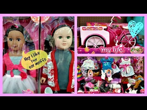 Xxx Mp4 Toy Hunting MY LIFE DOLLS Clothes Accessories At Walmart 2016 3gp Sex
