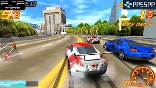 Asphalt: Urban GT 2 - PSP Gameplay 1080p (PPSSPP)