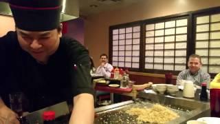 Chef Lion...Best Japanese Teppanyaki Chef Ever...Stockbridge (South Atlanta) Georgia.