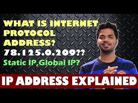 What is IP Address?Static IP,Dynamic IP,Local IP,Global IP Explained