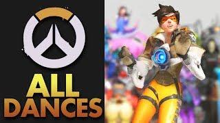 Overwatch Anniversary: All Dance Animations (SWING DANCE)