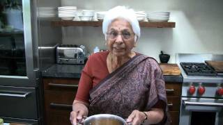 Making Indian Dahl with Prema