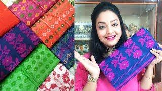 My AFFORDABLE Dhakai Jamdani Saree ||KOLKATA TRADITIONAL WEAR HAUL