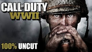 Call of Duty WW2 Gameplay German Story Mode #01 - Blutbad am D-Day
