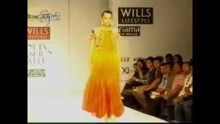 Diana Penty at Wills Lifestyle India Fashion Week 2012
