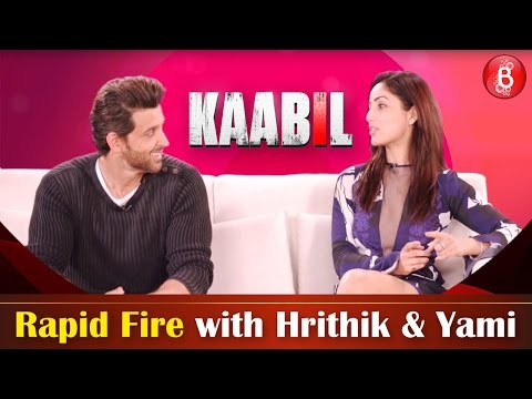 Xxx Mp4 Bubble Rapid Fire How Well Do The Kaabil Co Stars Hrithik And Yami Know Each Other 3gp Sex