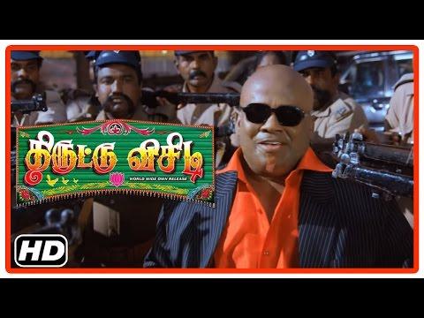 Thiruttu VCD Tamil Movie   Scenes   Senthil Intro   Police arrests Senthil  