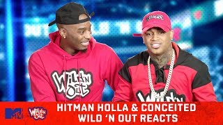 Hitman Holla & Conceited Judge Their Wild 'N Out Auditions 😂   Wild 'N Out Reacts   MTV
