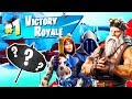 Download Video Download (FIRST EVER WIN IN SEASON 7 - FORTNITE BATTLE ROYALE GAMEPLAY REACTION) 3GP MP4 FLV