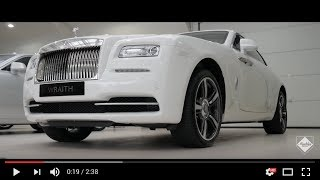 2016 Rolls-Royce Wraith in English white