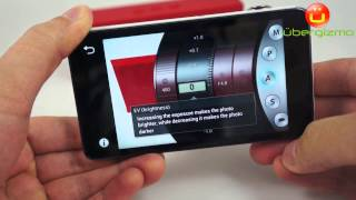 Samsung Galaxy Camera App User Interface (HD)