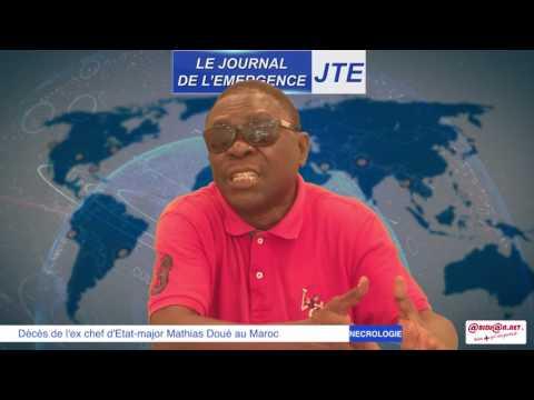 JTE : Décès de l'ex chef d'Etat major Mathias Doué, les révélations de Gbi de Fer
