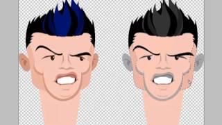 How to make a Ronaldo cartoon