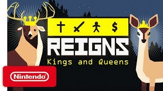 Reigns: Kings & Queens - Launch Trailer - Nintendo Switch
