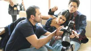 behind the camera kajol and srk in vogue
