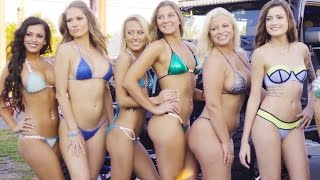 2017 BIKINI CONTEST with TBA Bikini Models