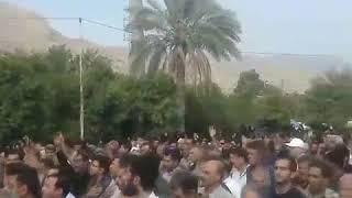 Iran, Unanimité populaire pour rendre hommage au trois martyr de kazeroun