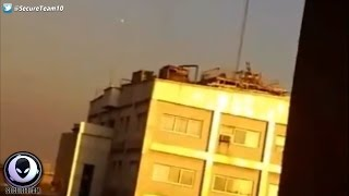 Iranian Military OPENS FIRE On UFO! 1/21/17