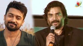 Madhavan Speech: Surya is my backbone in Tamil Cinema | Irudhi Suttru Audio Launch