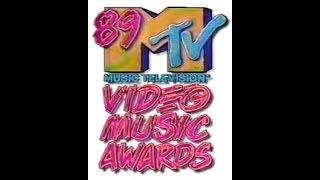 1989 MTV Video Music Awards - Nominees & Winners