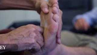 Jonathan Legg does foot reflexology! Road Less Traveled Season 2 with Jonathan Legg