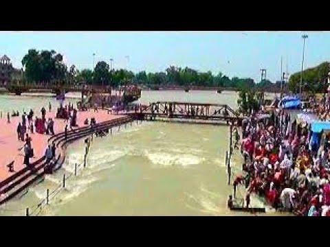 Xxx Mp4 Ganga Darshan River Bath At Har Ki Pauri Haridwar Uttarakhand 3gp Sex