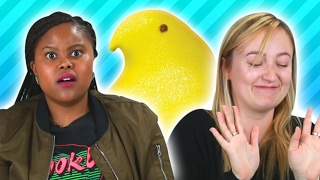 People Try Peeps Flavors
